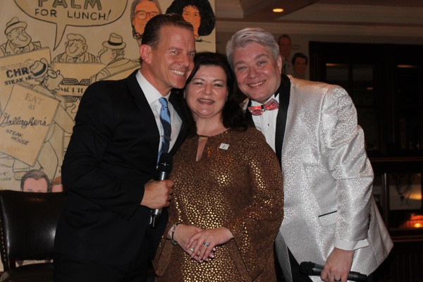 Christian Hoff, Pat Palumbo and Richard Skipper