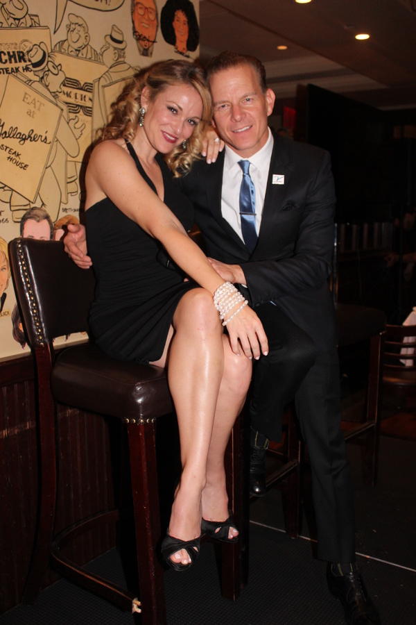 Melissa Hoff and Christian Hoff