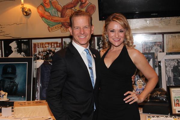 Christian Hoff and Melisa Hoff Photo