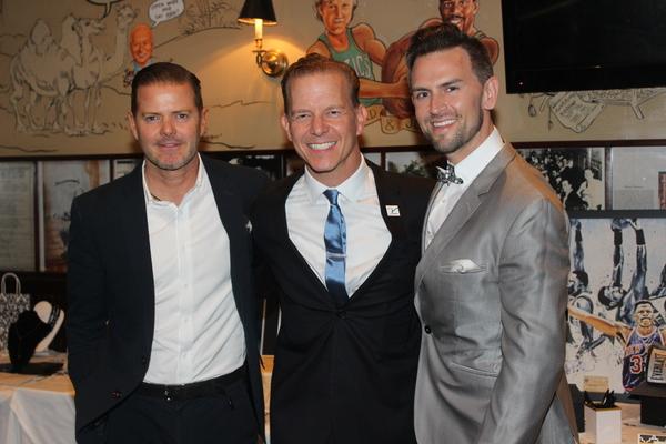 Clarke Thorell, Christian Hoff and Daniel Reichard