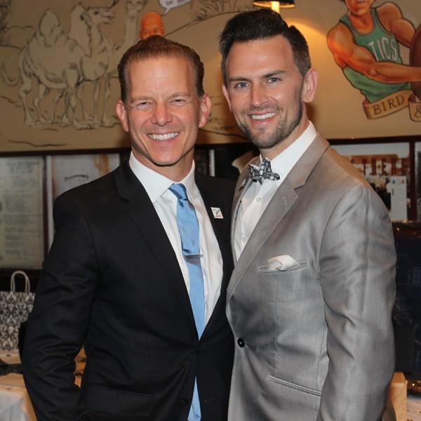 Christian Hoff and Daniel Reichard