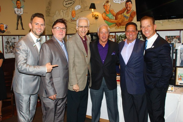 Daniel Reichard, Tony Newell, Joe Long, Anthony Ierulli, Joseph Cilento and Christian Photo