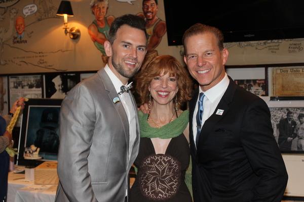 Daniel Reichard, Jennifer Naimo and Christian Hoff Photo