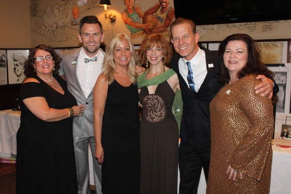 Catherine Sanneman, Daniel Reichard, Carolyn Miller, Jennifer Naimo, Christian Hoff and Pat Palumbo