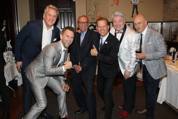 Richard Hillman, Daniel Reichard, Robert Carreon, Christian Hoff, Richard Skipper and Paul Arbogast
