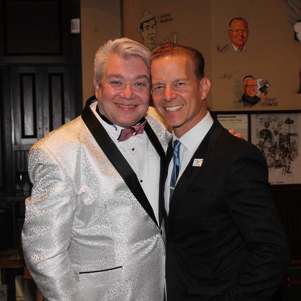 Richard Skipper and Christian Hoff