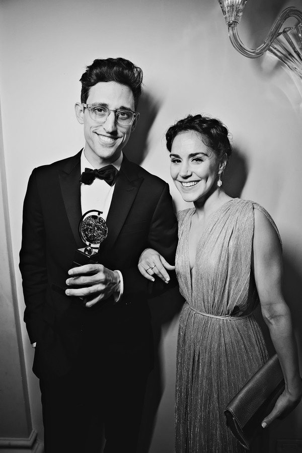 Justin Peck and Patricia Delgado Photo