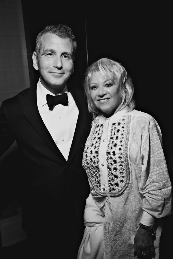 David Cromer and Elaine Paige