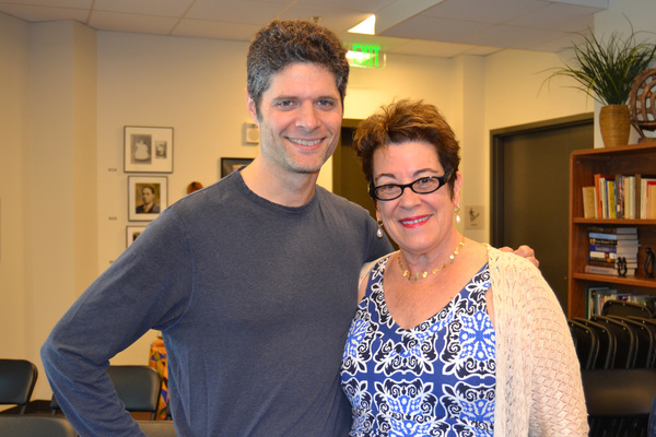 Composer/Arranger/Orchestrator/Music Supervisor Tom Kitt and Artistic Director Molly Smith