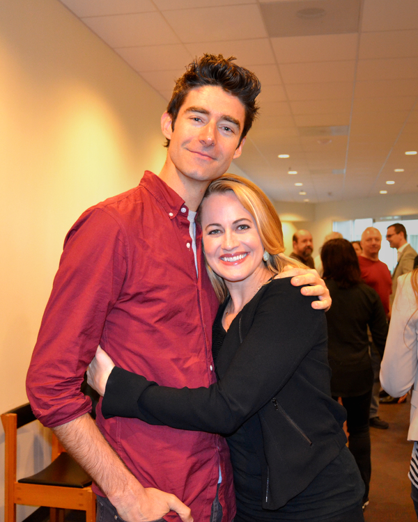 Photo Flash: In Rehearsal with Drew Gehling and the Cast of DAVE