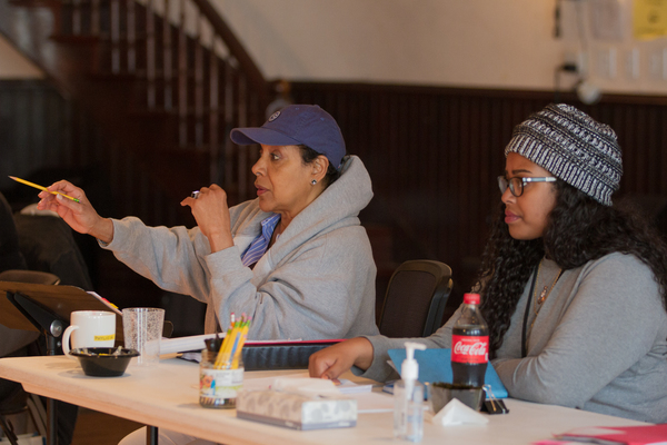 Director Phylicia Rashad and Assistant Director Regina Victor