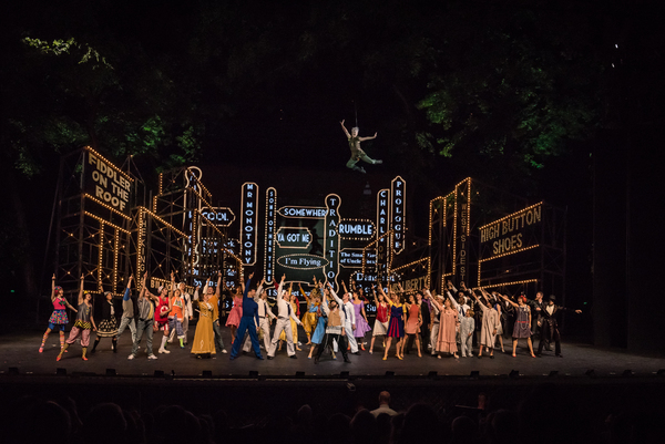 Photo Flash: JEROME ROBBINS' BROADWAY Opens The Muny's Centennial Season