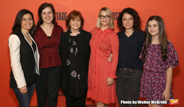 Susan Pourfar, Emma Geer, Blair Brown, Kellie Overbey, Tatiana Maslany, and Mia Sinclair Jenness