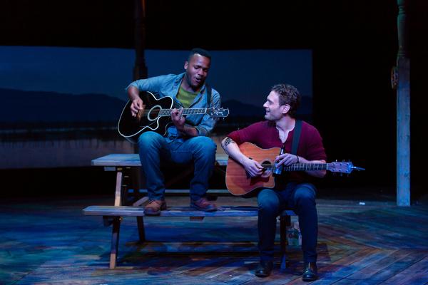 Deon'te Goodman with Eric William Morris