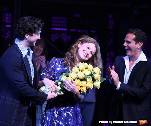Melissa Benoit with Evan Todd and Paul Anthony Stewart  Photo
