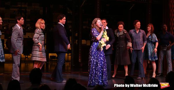 Melissa Benoit with Ben Jacoby, Jessica Keenan Wynn, Evan Todd, Paul Anthony Stewart, Photo
