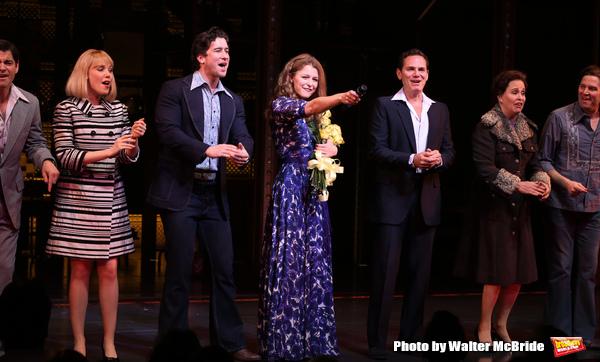 Melissa Benoit with Ben Jacoby, Jessica Keenan Wynn, Evan Todd, Paul Anthony Stewart, Nancy Opel