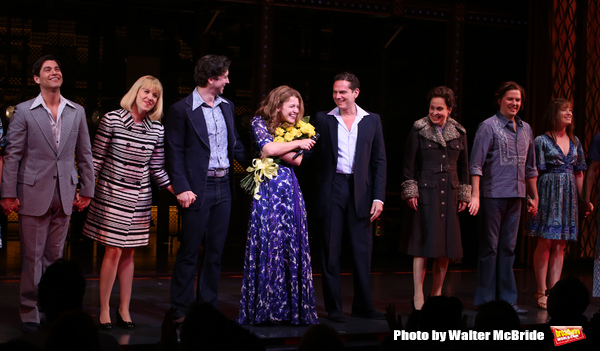 Melissa Benoit with Ben Jacoby, Jessica Keenan Wynn, Evan Todd, Paul Anthony Stewart, Nancy Opel and cast