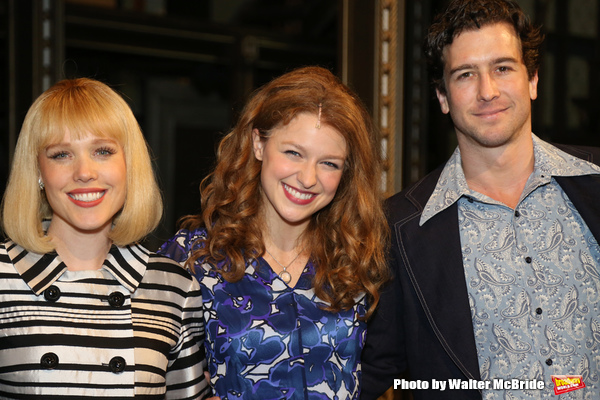 Melissa Benoit with Jessica Keenan Wynn and Evan Todd