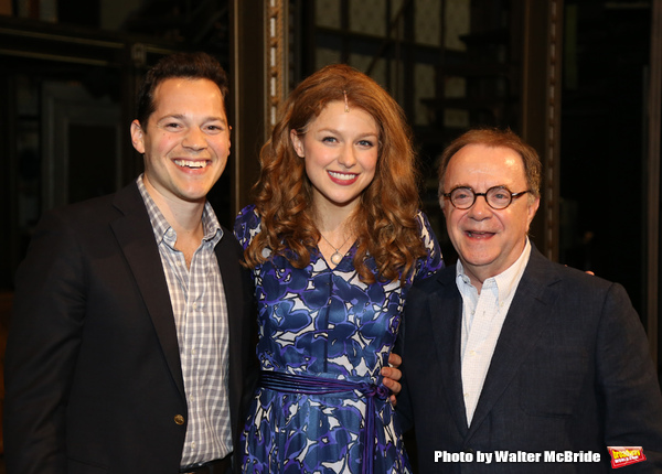 Melissa Benoit with Producers Mike Bosner and Paul Blake