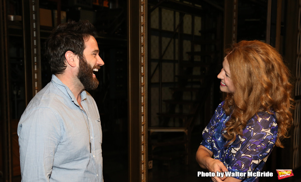 Colin Donnell visits Melissa Benoit