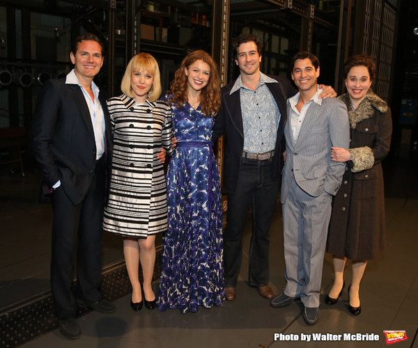 Melissa Benoit with Paul Anthony Stewart, Jessica Keenan Wynn, Evan Todd, Ben Jacoby  Photo