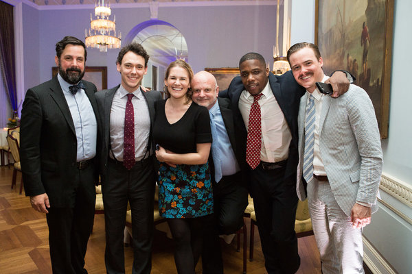 A  reunion of company members from Michael Wilson's 2015 production of Desire for The Acting Company: Chris Thorn, John Skelley (Harry Potter), Megan Bartle, Michael Wilson, Yaegel Welch, Mickey Theis (Six Degrees of Separation)