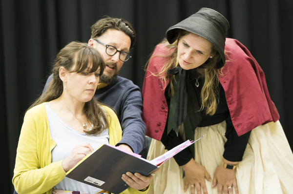Photo Flash: Inside Rehearsal for Regent's Park Open Air Theatre and ENO's THE TURN OF THE SCREW