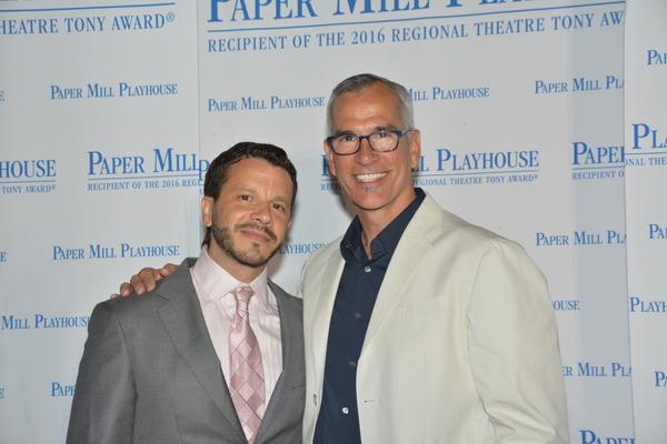 Nick Kenkell (Co-Choreoghraper) and Jerry Mitchell