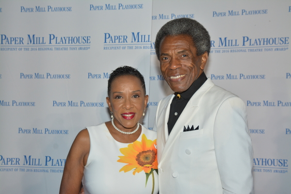 Gayle Turner and Andre De Shields