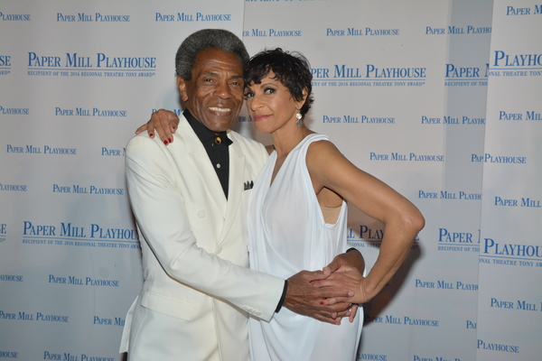 Andre De Shields and Nancy Ticotin