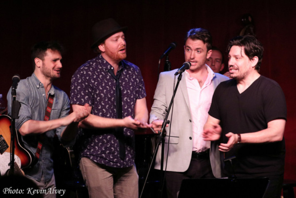 Billy Finn, David Abeles, James Snyder, Christopher Ryan Grant Photo