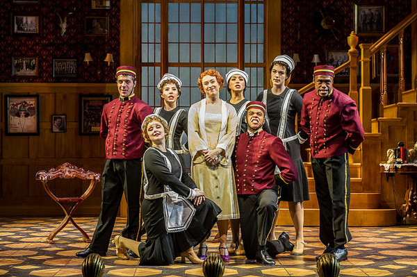 Holly Ann Butler and the Ensemble of The Royal Family of Broadway