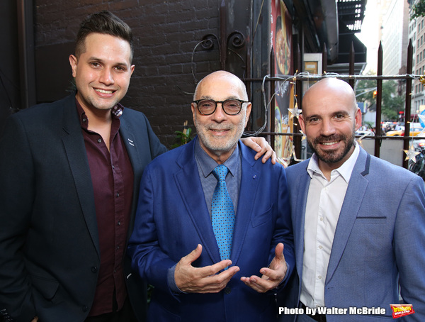 Edgard Lopez, Robert Federico and Rafael Sanchez