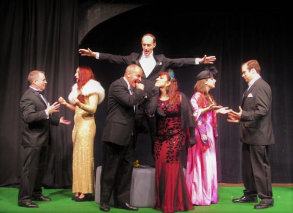 Fergus Milton, Lydia Fascia, Keith Eugene Brayne, Veronica Strickland, Danielle Conti Photo