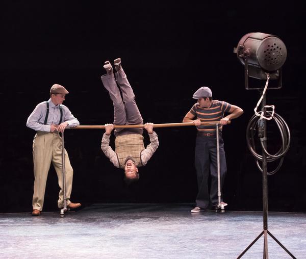 Jordan Beall, Matt Loehr and Eric Anthony Johnson; Photo by Charr Crail