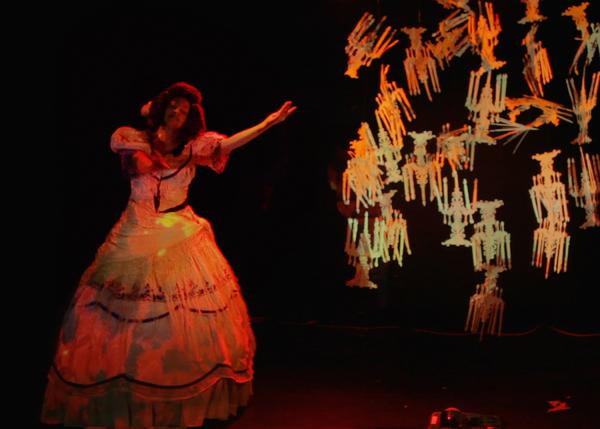Photo by David Pym, performer Normandy Sherwood Photo