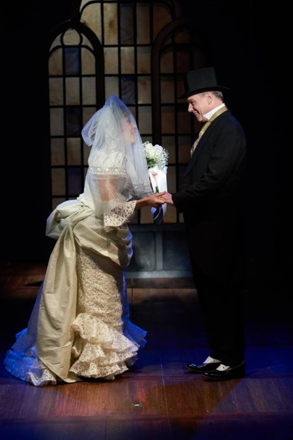 STAGES St. Louis I DO! I DO! Kari Ely & David Schmittou Photo by Peter Wochniak, ProPhotoSTL