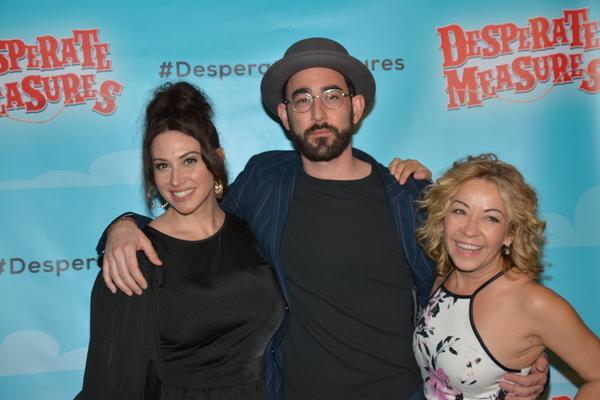 Lesli Margherita, Max Crumm and Jen Cody