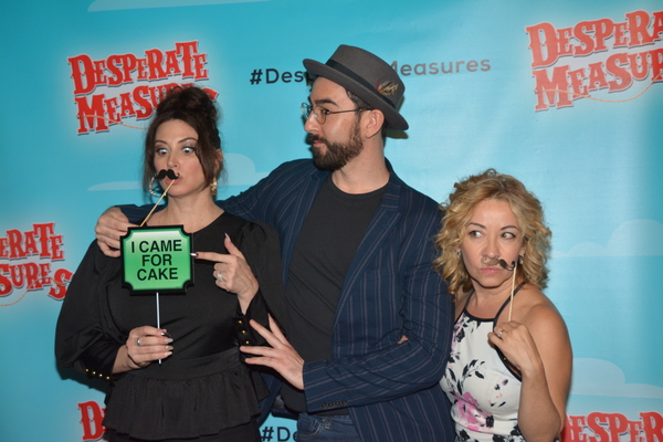Lesli Margherita, Max Crumm and Jen Cody
