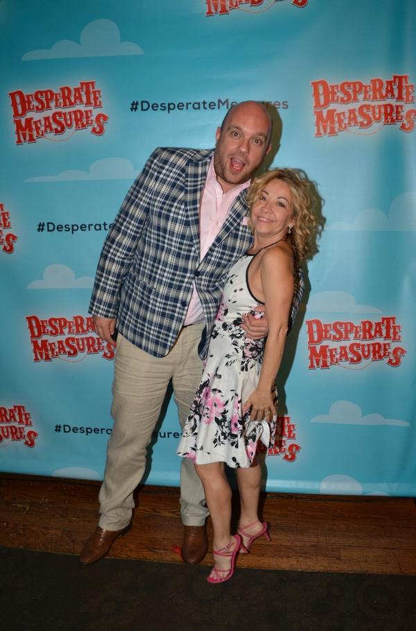 Eddie McGinty and Jen Cody