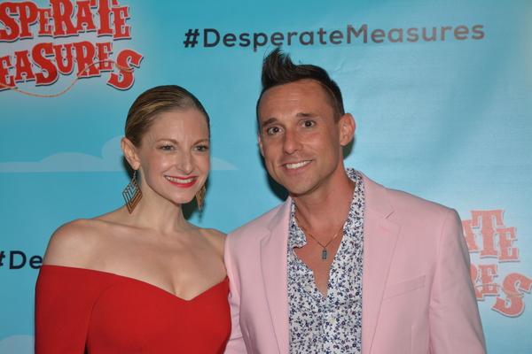 Lauren Molina and Nick Cearley
