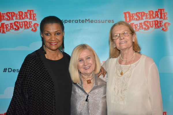 Willette Klausner, Pat Addiss and Mary Cossette