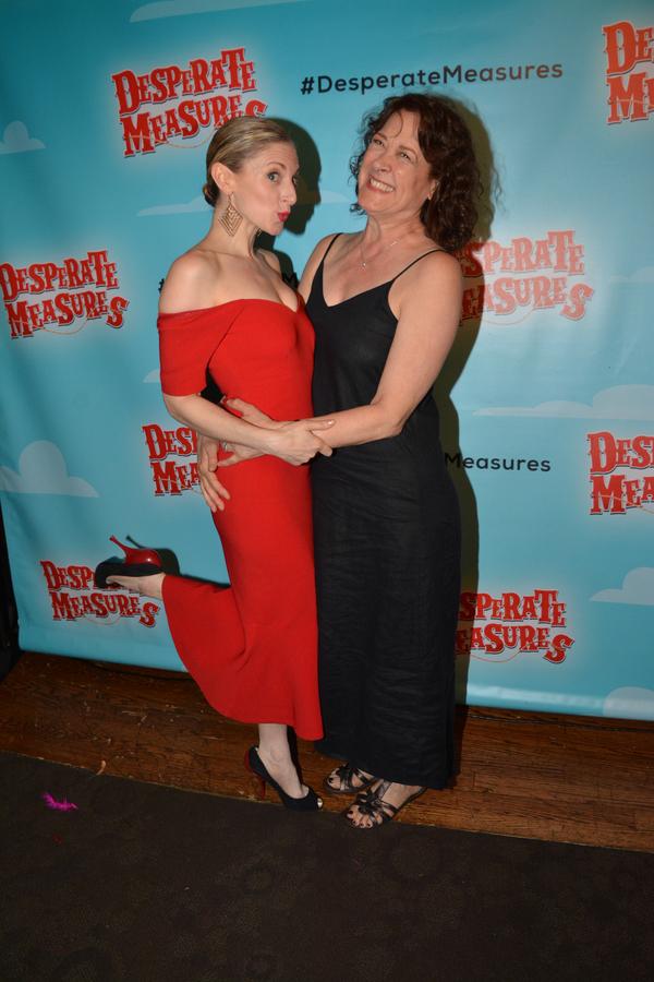 Lauren Molna and Karen Ziemba