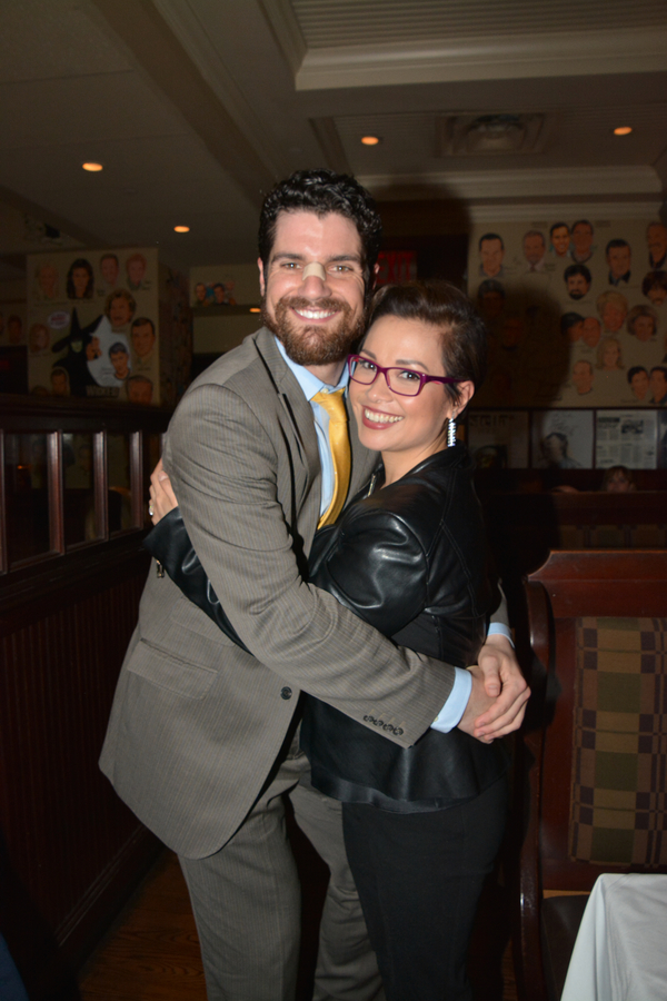 Peter Saide and Lea Salonga Photo