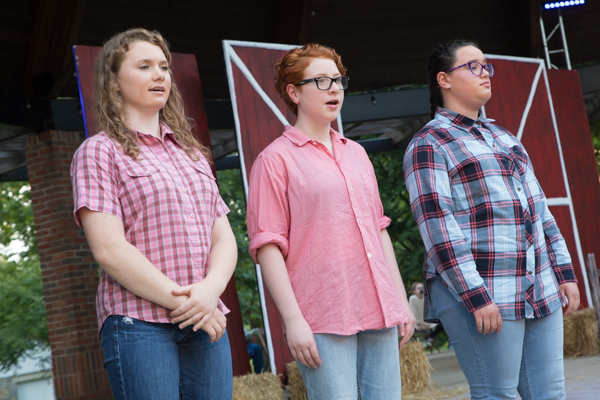 Photo Coverage: First look at Curtain Players' CHARLOTTE'S WEB