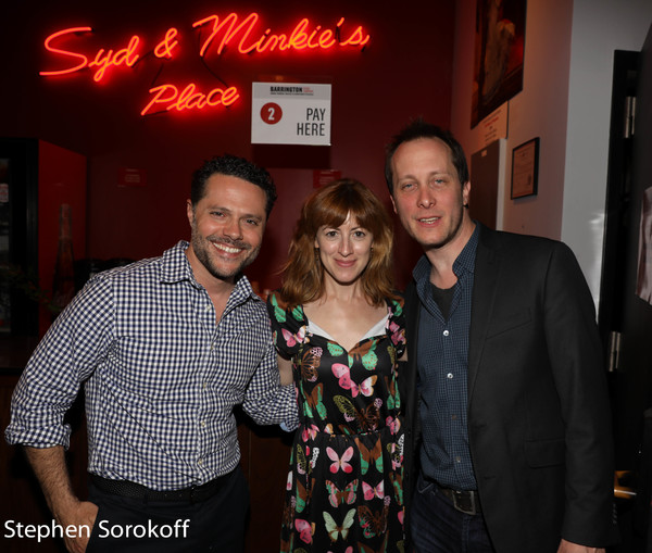 Joshua Bergasse, Kate Wetherhead, Jeff Croiter