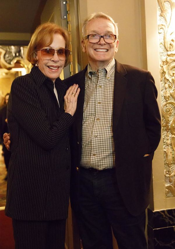 Carol Burnett and Bob Mackie. Photo