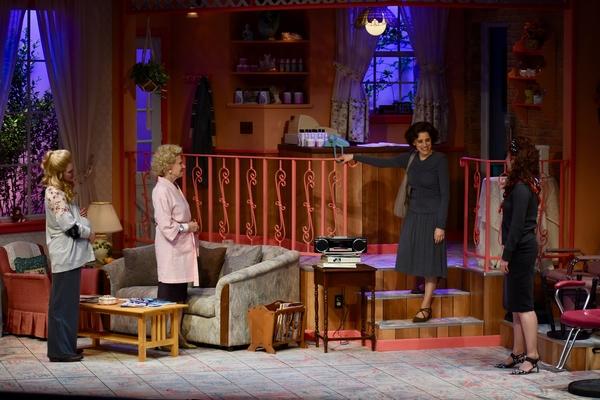 Jillian Louis (Annelle), Judy Kuhn (M'Lynn), Amy Bodnar (Truvy)