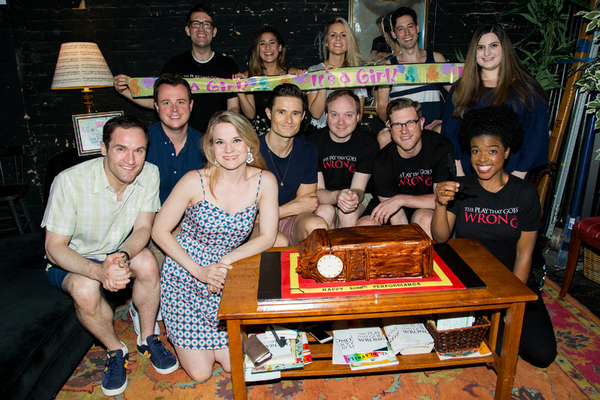 Photo Coverage: THE PLAY THAT GOES WRONG Celebrates 500 Performances